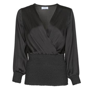 Textiel Dames Tops / Blousjes Betty London NAUSSE Zwart