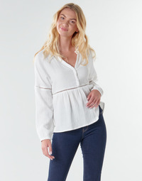 Textiel Dames Tops / Blousjes Betty London NAUSSE Ecru