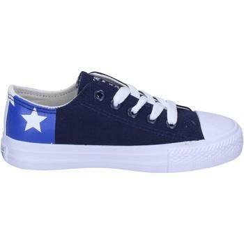 Schoenen Jongens Sneakers Beverly Hills Polo Club BM763 Bleu