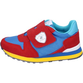 Schoenen Jongens Sneakers Beverly Hills Polo Club BM767 Rouge