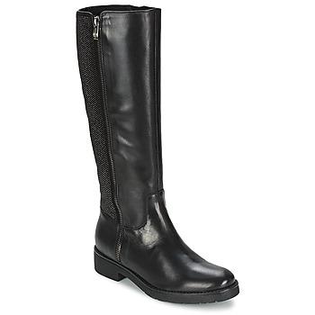 Schoenen Dames Hoge laarzen Tosca Blu ABELLINUM Zwart