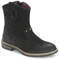 Schoenen Meisjes Laarzen Mod'8 NOLA Zwart