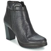 Schoenen Dames Enkellaarzen Mjus GRACANICA Zwart