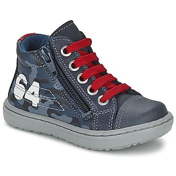 Schoenen Jongens Hoge sneakers Citrouille et Compagnie MINAI Blauw