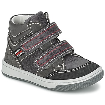 Schoenen Jongens Hoge sneakers Citrouille et Compagnie MONI Grijs