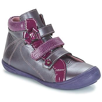 Schoenen Meisjes Hoge sneakers Citrouille et Compagnie FALIE Violet
