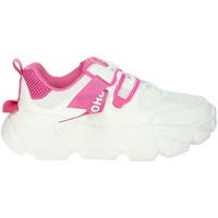 Schoenen Dames Lage sneakers Shop Art SA020052 White/Fuchsia