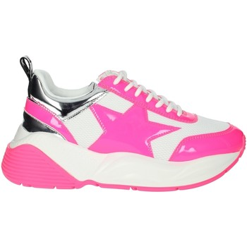 Schoenen Dames Lage sneakers Shop Art SA020044FX White/Fuchsia
