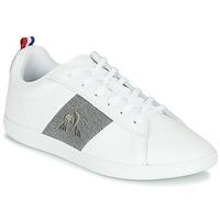 Schoenen Lage sneakers Le Coq Sportif COURTCLASSIC GS Wit