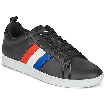 Schoenen Lage sneakers Le Coq Sportif COURTCLASSIC FLAG Zwart