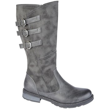 Schoenen Dames Laarzen Cipriata  Grijs