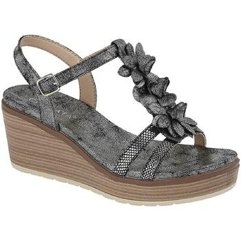 Schoenen Dames Sandalen / Open schoenen Cipriata  Donker tin