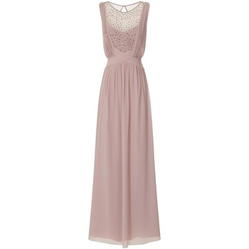 Textiel Dames Lange jurken Little Mistress  Mink