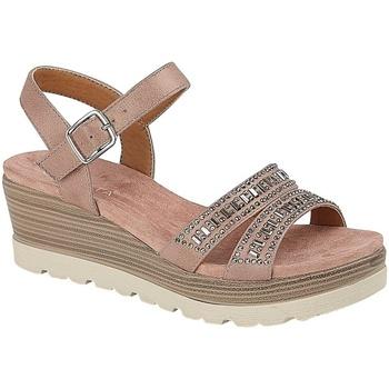 Schoenen Dames Sandalen / Open schoenen Cipriata  Roze Goud