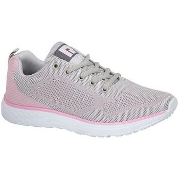 Schoenen Dames Lage sneakers Dek  Grijs/Lichtroze