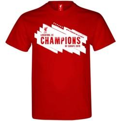Textiel Heren T-shirts korte mouwen Liverpool Fc  Rood