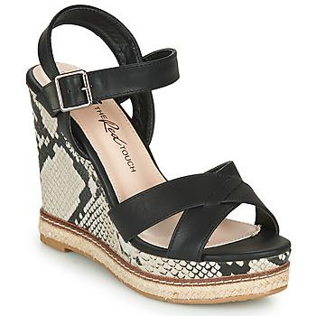Schoenen Dames Sandalen / Open schoenen Xti  Zwart