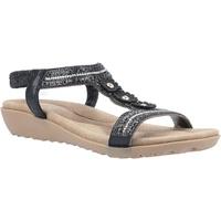Schoenen Dames Sandalen / Open schoenen Fleet & Foster  Zwart