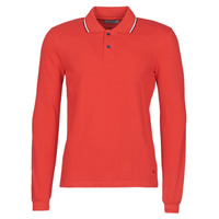 Textiel Heren Polo's lange mouwen Casual Attitude NILE Rood