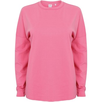 Textiel Heren Sweaters / Sweatshirts Skinni Fit Slogan Helder Roze