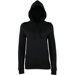 Textiel Dames Sweaters / Sweatshirts Awdis Girlie Diep zwart