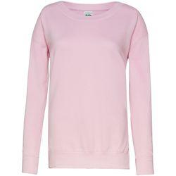 Textiel Dames Sweaters / Sweatshirts Awdis Girlie Baby Roze