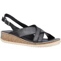 Schoenen Dames Sandalen / Open schoenen Hush puppies  Zwart