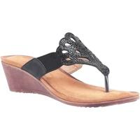 Schoenen Dames Sandalen / Open schoenen Divaz  Zwart