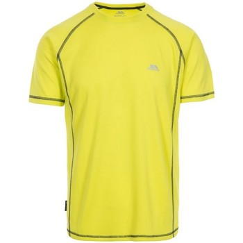 Textiel Heren T-shirts korte mouwen Trespass Albert Limeade