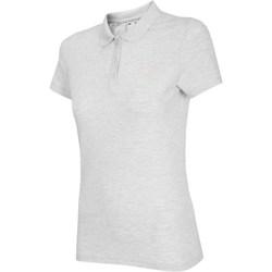 Textiel Dames T-shirts korte mouwen 4F NOSH4 TSD007 Biały Melanż Blanc, Gris