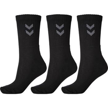 Accessoires Sokken Hummel Lot de 3 paires de chaussettes  Basic noir