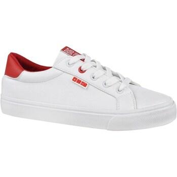 Schoenen Dames Lage sneakers Big Star EE274311 Blanc, Rouge