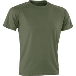 Textiel Heren T-shirts korte mouwen Spiro Aircool Bestrijd