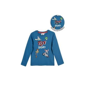 Textiel Jongens T-shirts met lange mouwen TEAM HEROES  TOY STORY Blauw
