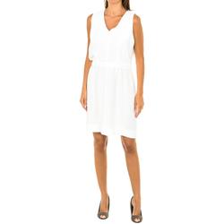 Textiel Dames Korte jurken Armani jeans Robe sans manches Wit