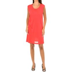 Textiel Dames Korte jurken Armani jeans Robe sans manches Rood