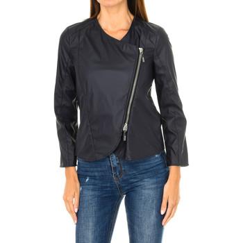 Textiel Dames Leren jas / kunstleren jas Armani jeans Veste Blauw