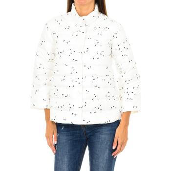 Textiel Dames Jasjes / Blazers Armani jeans Veste matelassée Multicolour