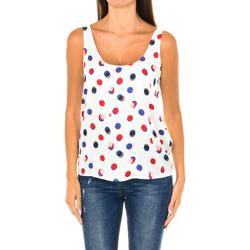 Textiel Dames Tops / Blousjes Armani jeans Débardeur Multicolour
