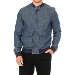 Textiel Heren Spijker jassen Armani jeans Veste Blauw