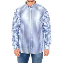 Textiel Heren Overhemden lange mouwen Armani jeans Chemise à manches longues Multicolour