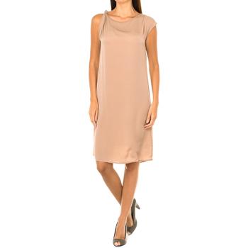 Textiel Dames Korte jurken Armani jeans Robe sans manches Brown