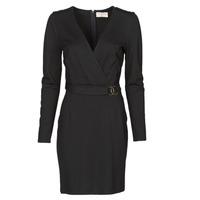 Textiel Dames Korte jurken Moony Mood NAMITIE Zwart
