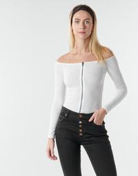 Textiel Dames Tops / Blousjes Moony Mood NOAM Wit