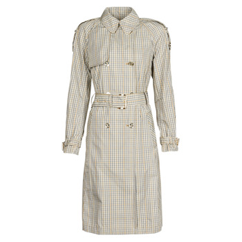 Textiel Dames Trenchcoats MICHAEL Michael Kors PLAID PACKABLE TRENCH Beige
