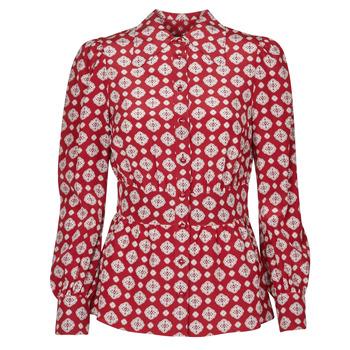 Textiel Dames Tops / Blousjes MICHAEL Michael Kors LUX PINDOT MED TOP Bordeaux