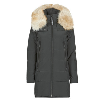ELEVATED DOWN FUR COLLAR HOOD
