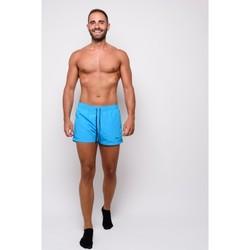 Textiel Heren Zwembroeken/ Zwemshorts Champion Men's Beachshorts (214442-bs017) Blauw