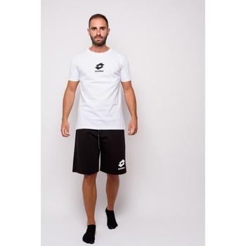 Textiel Heren T-shirts korte mouwen Lotto Half Sleeve Jersey T-shirt (ltu012-wit) Wit