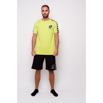 Textiel Heren T-shirts korte mouwen Lotto Half Sleeve Jersey T-shirt (ltu016-groen) Groen
